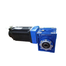24V 200w bldc servo motor with worm gear encoder KY80AS0202-15
