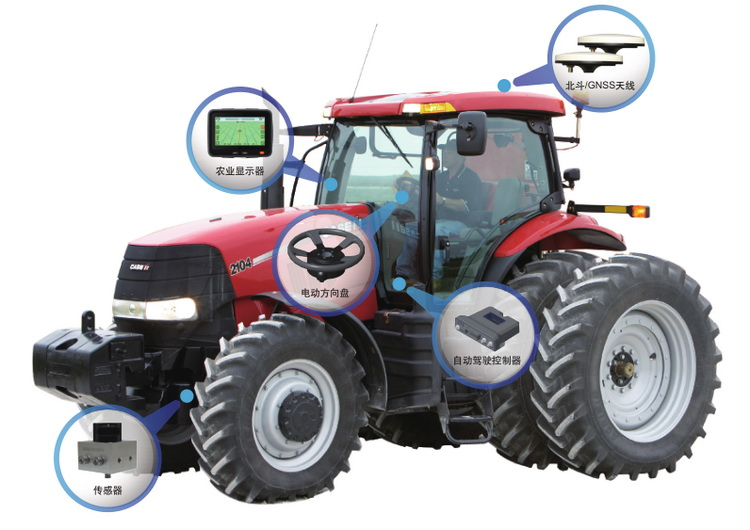 factory wholesales electric steering motor torque steering motor automatic driving system for precision agriculture